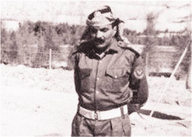 A rare photograph of late Pakistani military ruler Gen Ziaul Haq in Jordan, during what was known as Black September.