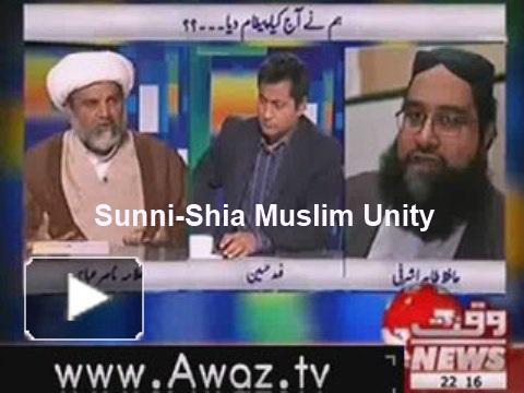 Fake liberals want to create Sunni-Shia violence.