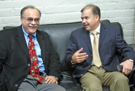 Najam Sethi is known for promoting Pakistan army's agendas and discoruses