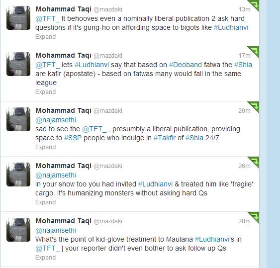Taq tweets on TFT Sethi