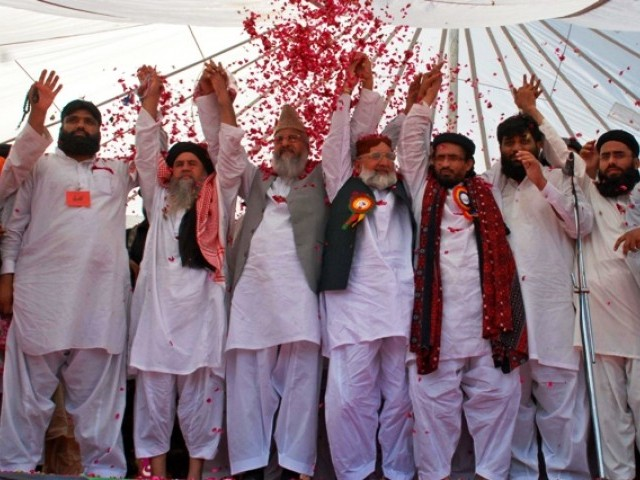 Leaders of banned terrorist outfit Sipah-e-Sahaba currently operating as ASWJ.