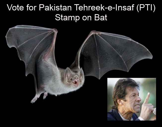 Stamp on bat