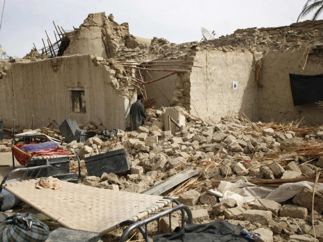 In Pakistan, most of the damage took place in Balochistan's remote Mashkhel district.