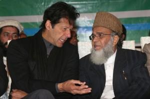 Imran-Khan-and-Syed-Munawar-Hassan