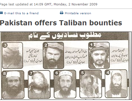 wanted taliban