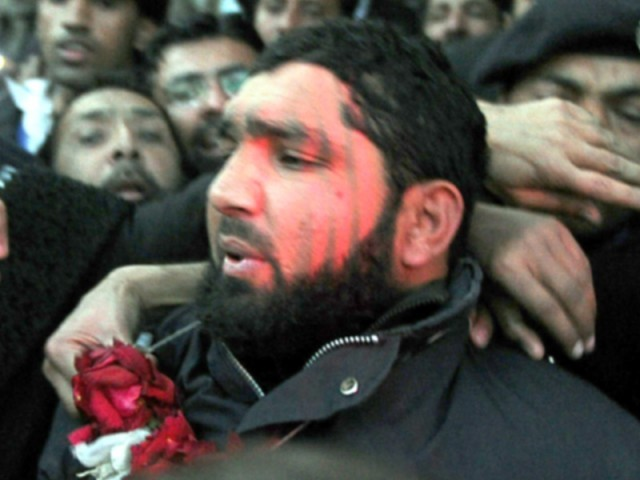 PTI MNA Mujahid Ali Khan demands release of Mumtaz Qadri.
