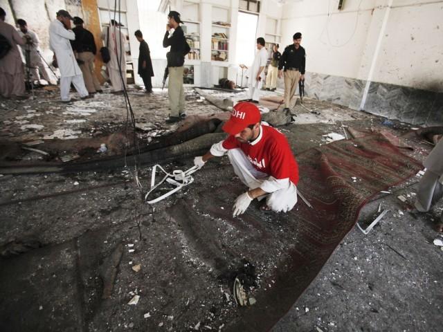 In June 2013, a Deobandi suicide bomber killed 15 Shia Muslims in a mosque in Peshawar.