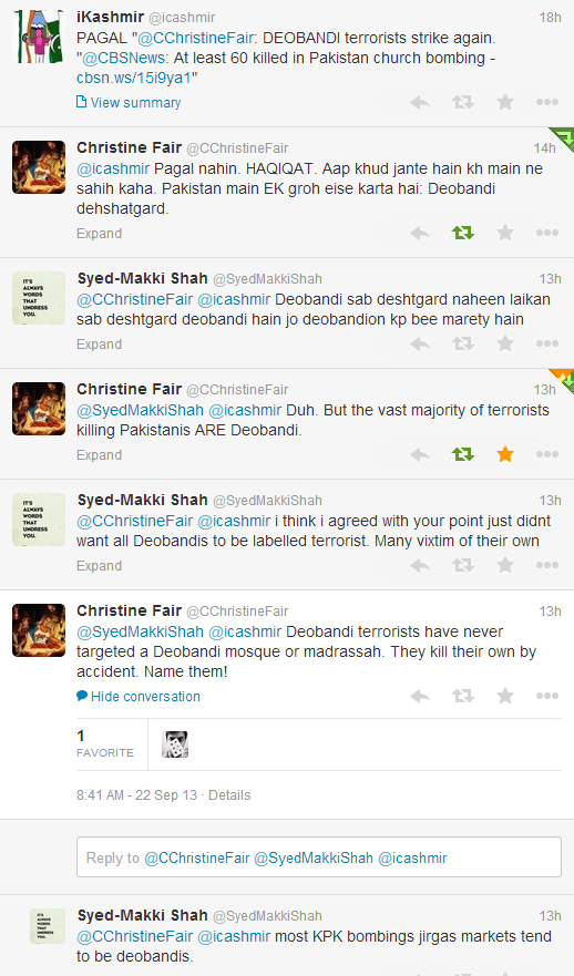 Pagal Christine respond to Ikashmir