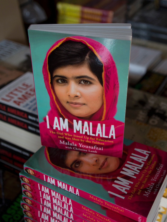 """Perhaps a more appropriate comparison for """"I am Malala"""" is with another book. As a friend of mine explained to his six-year-old daughter """"she is our Harry Potter – the girl who lived"""""""