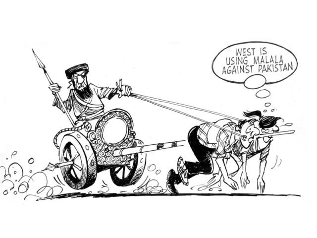 West is using Malala against Pakistan