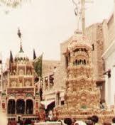 استاد اور شاگرد کے معروف تعزیے جو اہل سنت بریلوی نکالتے ہیں