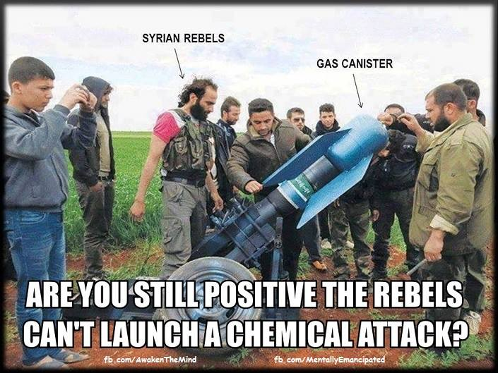 Syrian Rebels Use Chemical Weapons