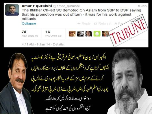 CJP Demoted Ch Aslam
