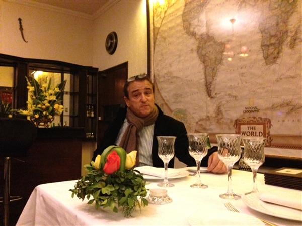 Philippe Lafforgue, owner of Islamabad's La Maison restaurant Islamabad.