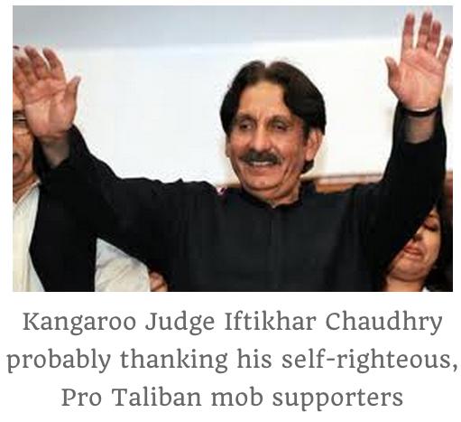 CJP Taliban supporters