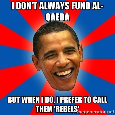 Obama al queda