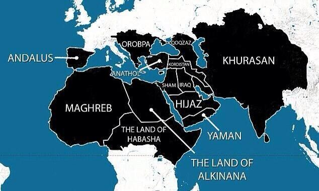 Expansion of the Islamic Caliphate of Syria & Iraq