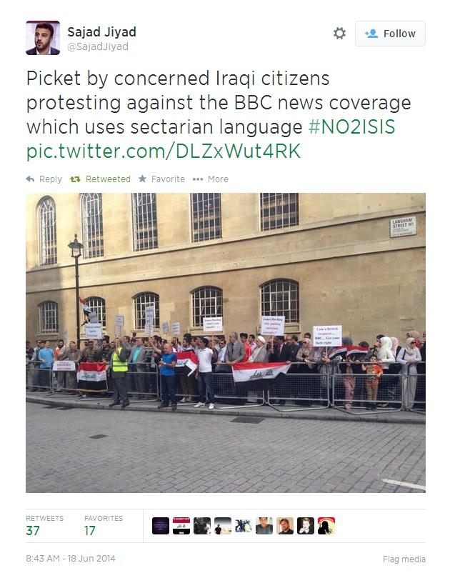 Iraqi Citizens Protest against False Shia Sunni Binary by BBC