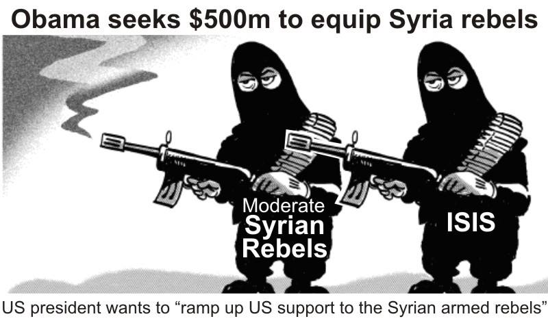 Moderate and not so Moderate rebels