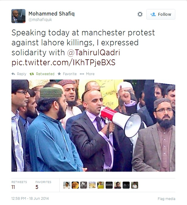 TUQ manchester Protests