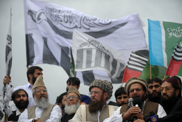 Leaders of Islamist parties Haifz Saeed