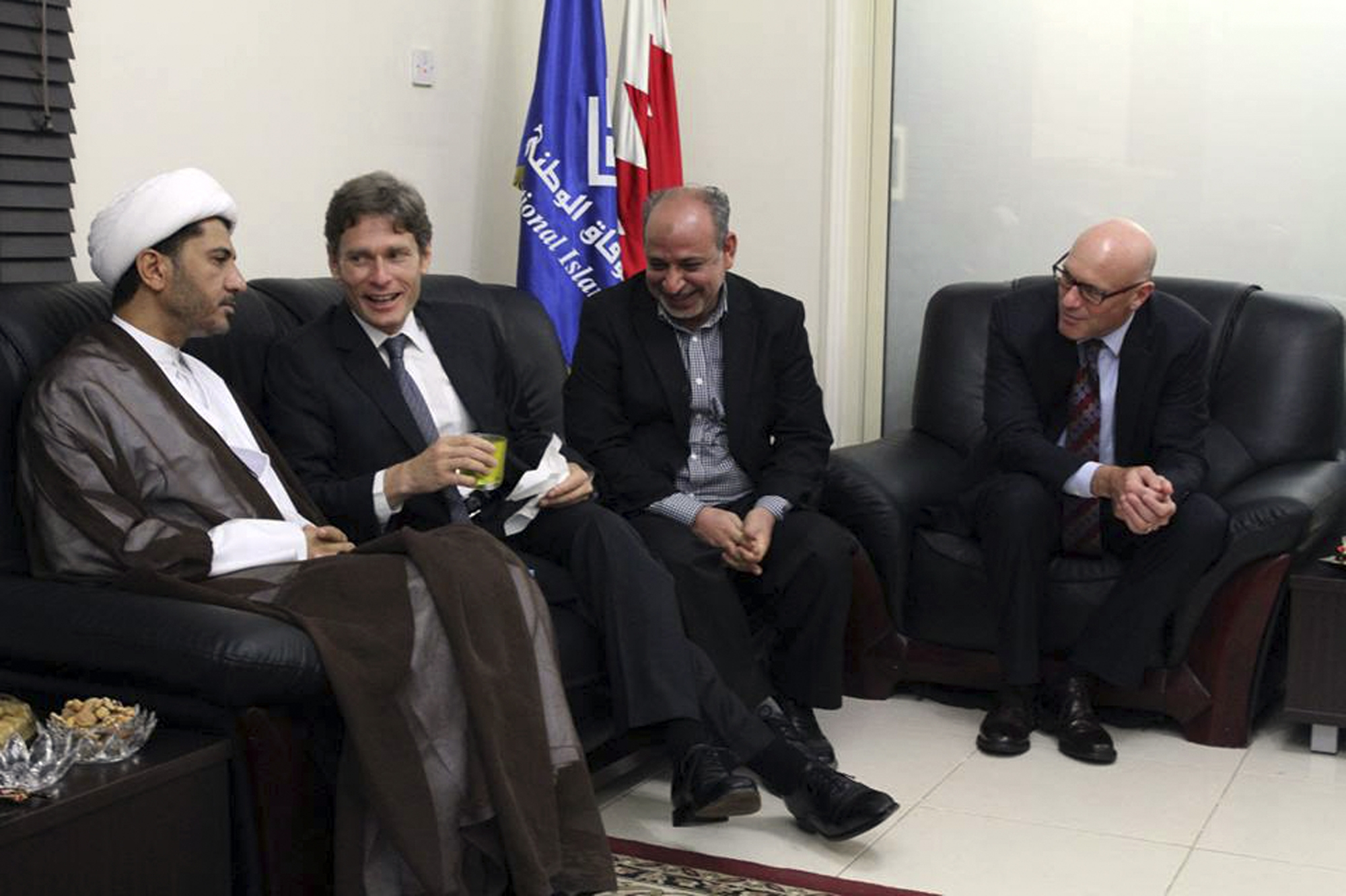 Tom Malinowski, Ali Salman, Abdul Jalil Khalil, Timothy J. Pounds