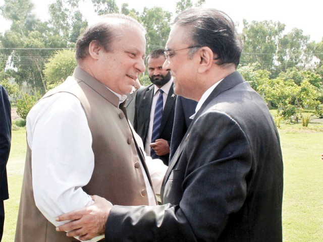 Where does Reconciliation end and Capitulation Begin? PPP is fast becoming the B-Team of PML N. PHOTO: ONLINE