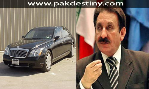 Even after finally retiring from the office of Chief Justice, Rana Iftikhar Chaudhary continues to abuse his privileges and demand bullet proof Mercedes. He has no need for security as the judiciary under him freed and facilitated Deobandi terrorists. Even the Taliban acknowledged and thanked him for his services