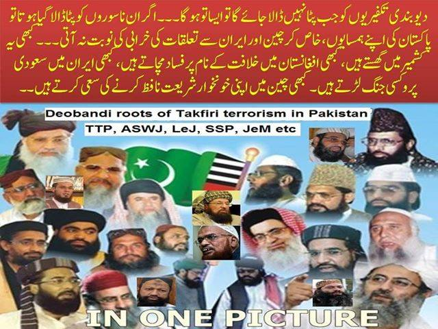 Salafi Deobandi Terror Roots in Pakistan
