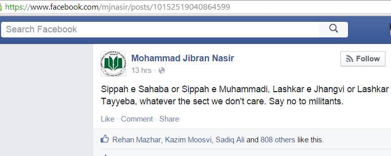 Jibran false nutrality