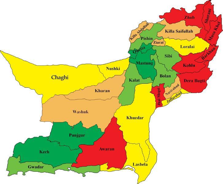 Baluchistan-map