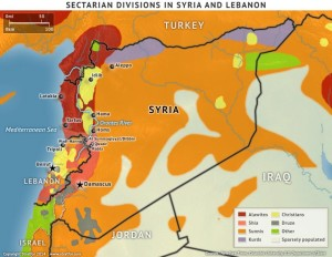 Syria Sectarian division