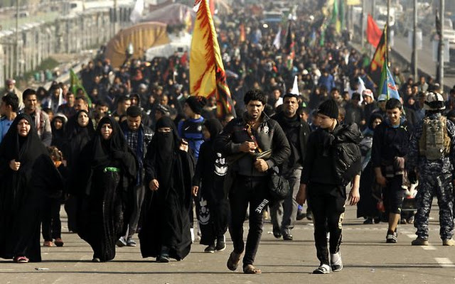 iraqi-shiite-piligrims-heading-to-karbala