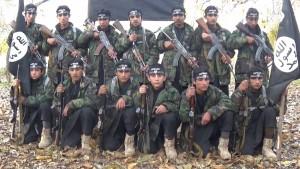 "Teen-aged jihadists training in an Islamic State Khorasan ""province"" propaganda video."