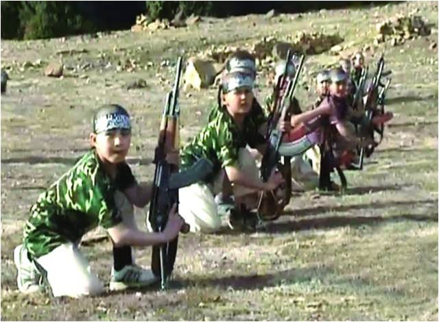 large-An ETIM videos show children training allegedly in Pakistani tribal areas