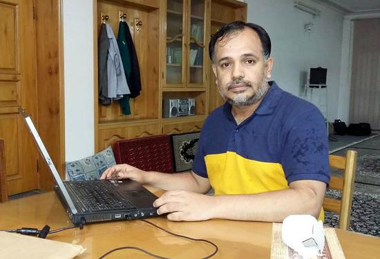 epa05294981 An undated handout picture released by Khurram Zaki's family shows him in, Pakistan. Zaki, an active campaigner against radical Muslim clerics and human rights activists was killed by unknown gunmen in Karachi on 08 May 2016. EPA/SHAHZAIB AKBER